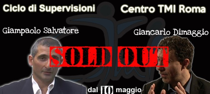 Ciclo di supervisioni SOLD OUT