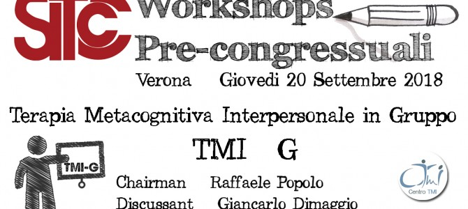 Terapia metacognitiva interpersonale in gruppo (TMI-G)