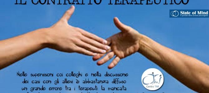 Il Contratto Terapeutico