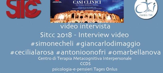 Video Intervista SITCC 2018 Verona – Dimaggio Onofri La Rosa