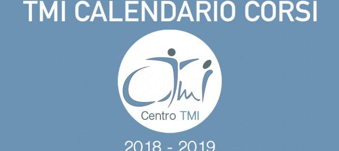 Calendario Aggiornato dei Corsi TMI 2018-2019
