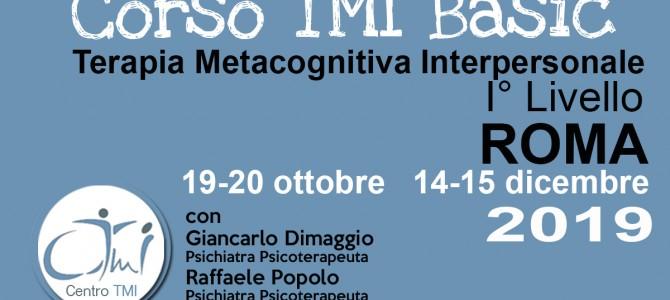 Corso TMI BASIC Roma 2019