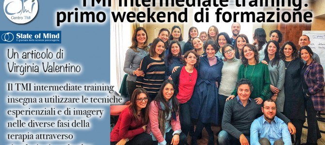TMI intermediate training: primo weekend di formazione