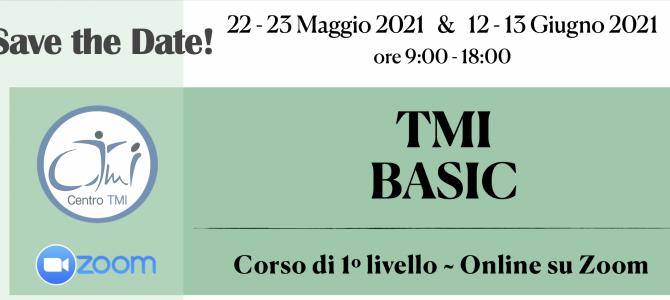 TMI BASIC ~ Corso di Primo Livello ~ Online su Zoom