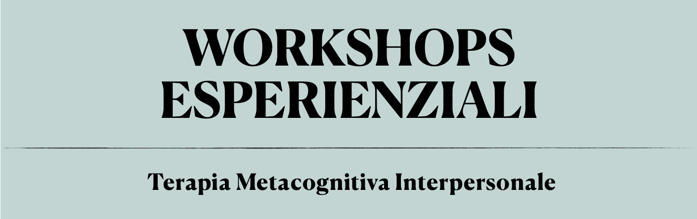 Workshop esperienziali TMI